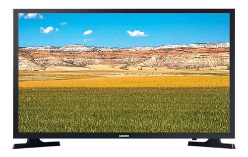 Imagen 1 de 6 de Smart Tv 32  Hd Samsung Un32t4300agczb Negro