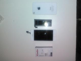 Frontal iPhone 5 Se + Carregador (iPhone 4) + Bateria