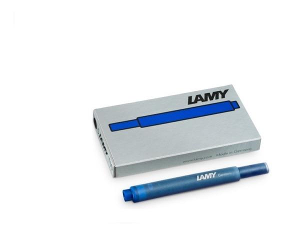 Cartucho Para Caneta Tinteiro Lamy Azul Real - 5 Unidades