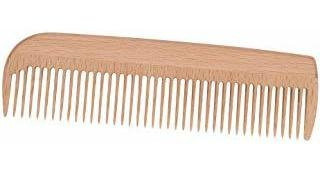 Redecker Waxed Beechwood Pocket Comb, 5-7/8-inches