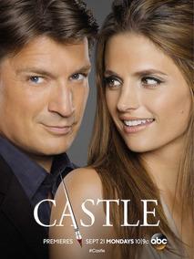 Castle 1ª A 8ª Temporadas Dublado E Legendado Completo Top !