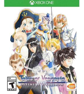 Tales Of Vesperia Definitive Edition / Xbox One / N0 Codigo