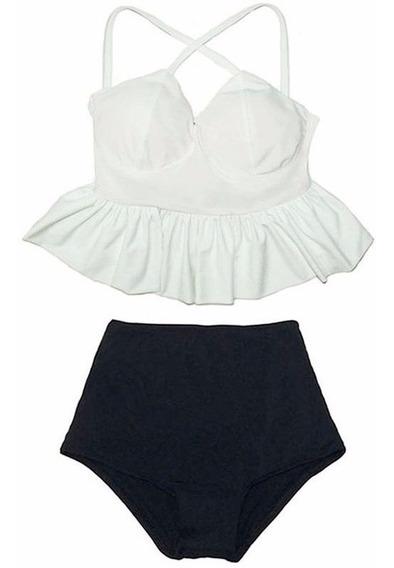 87922fa98e2a Bikini Cintura Alta - Trajes de baño Mujer Bikinis en Mercado Libre ...