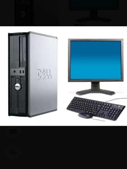 Cpu Dell Optiplex 380 Core 2duo Hd 240gb 3gb +tela 17 Dell