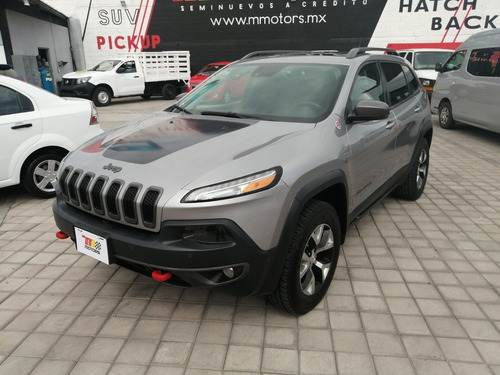 Imagen 1 de 15 de Jeep Cherokee 2015 3.2 Trailhawk Mt