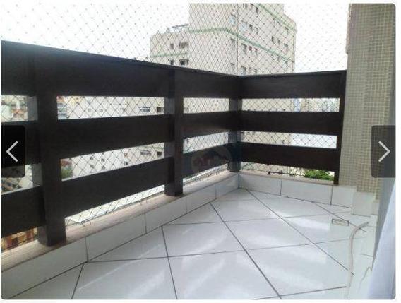 Kitnet Com 1 Dormitório À Venda, 38 M² Por R$ 210.000,00 - Centro - São Vicente/sp - Kn0420