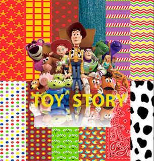 Kit Imprimible Toy Story- Papeles Digitales -fondos Clipart