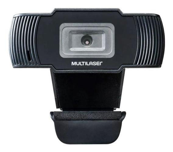 Webcam Office Hd 720p Usb Ac339 Multilaser