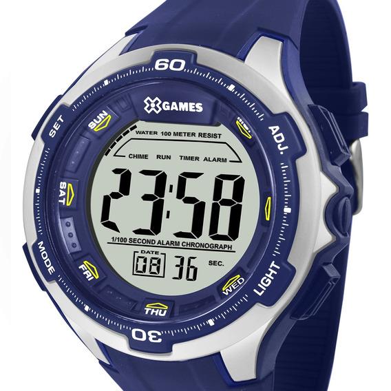 Relógio X-games Digital Masculino Xmppd465 Bxdx + Nota