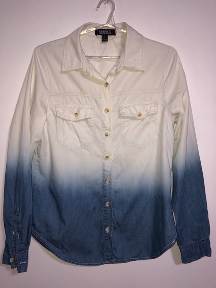 Camisa De Mujer Marca Forever 21 Talle M Jean Liviano