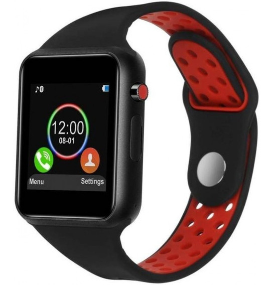 Relógio Android Touch Bluetooth Smart Whatch Celular Chamada