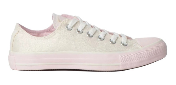 Tênis All Star Converse Chuck Taylor Amendoa/rosa- Original