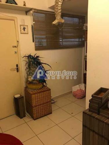 Apartamento À Venda, 3 Quartos, 1 Suíte, Centro - Rio De Janeiro/rj - 21196