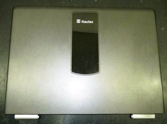 Tampa Superior Do Lcd Do Notebook Itautec W7630 W7635 Usado