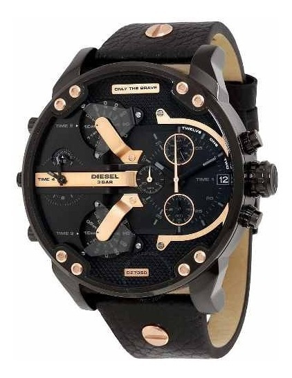 Relógio Diesel Dz7350 Mr. Daddy 2.0 Chronograph Original