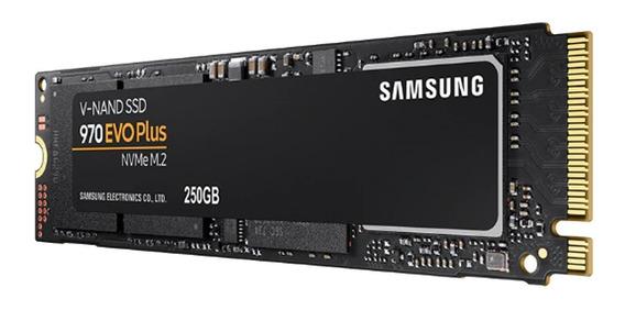 Ssd 250gb Samsung Evo Plus 970 M.2 M2 Nvme Hd Mz-v7s250bw