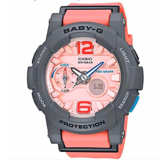 Relógio Baby-g Bga-180-4b2dr