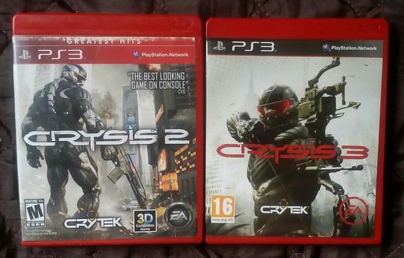 Crysis 2 E Crysis 3 Para Playstation 3