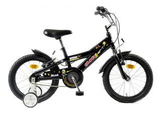 Bicicleta Nene Olmo Rod 16 Cosmo Nautas Rueditas - Racer