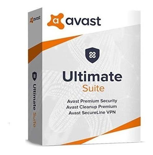 Imagen 1 de 1 de Avast Ultimate Suite 1 Pc 1 Año 100% Original