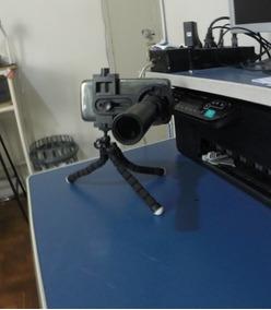 Monoculo Nikula Aumento Ate 30x Zoom + Tripé + Adaptador