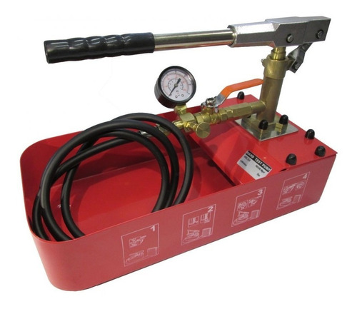 Bomba Para Prueba Hidráulica De 50 Bar - Manual-ideal Calef.