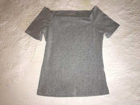 Top Zara Off-shoulder Nuevo Importado