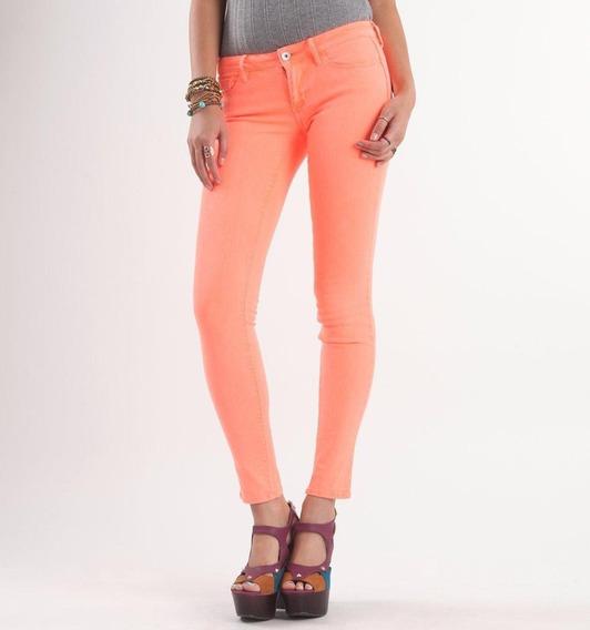Pantalones Jeans Para Damas Semi Strech Capri Marca Refuge