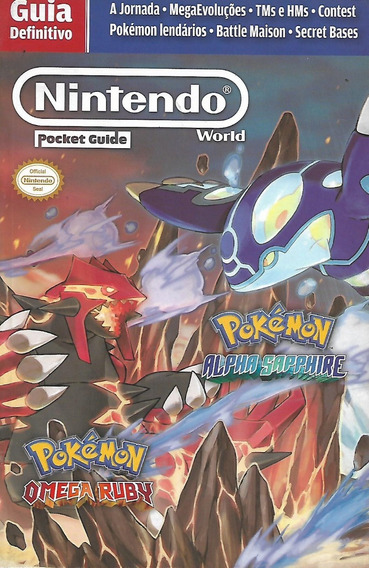 Livro Guia Definitivo Nintendo World Pocket Guide Pokémon