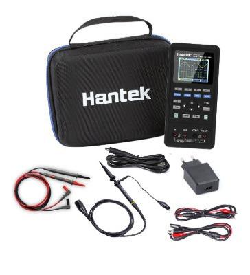 Osciloscopio Digital + Multímetro Hantek 2c42 40hz