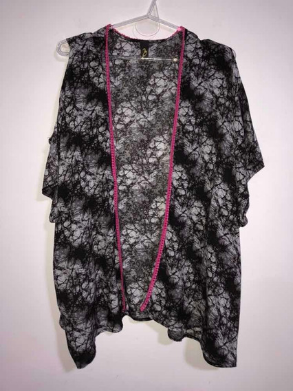 Kimono Saquito Liviano Estampado Talle 40
