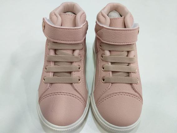 Tênis Sneaker Infantil Baby Moon Rosa Klin 22 Ao 27 - 21199