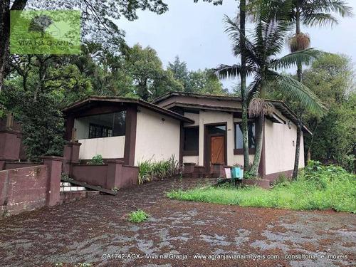 Imagem 1 de 20 de Casa, 120 M² - Venda Por R$ 1.100.000,00 Ou Aluguel Por R$ 5.000,00/mês - Miolo Da Granja - Cotia/sp - Ca1742