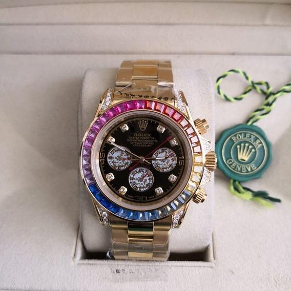 Relógio Rolex Rainbow