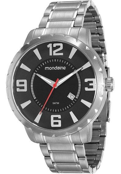 Relógio Masculino Mondaine Analógico Social 94815g0mvne1