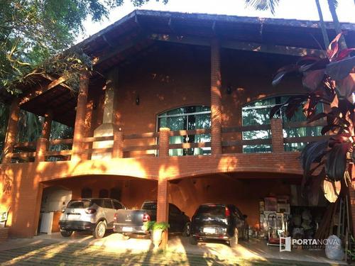 Casa Com 5 Dormitórios, 600 M² - Venda Por R$ 2.400.000,00 Ou Aluguel Por R$ 5.000,00 - Jardim Das Colinas - Embu Das Artes/sp - Ca0054