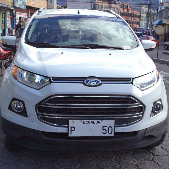 Ford Ecosport 2014 Kilometraje 29.765