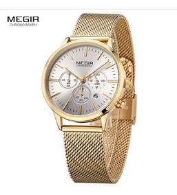 Relógio Feminino Megir Importado Alto Padrão - Promoção