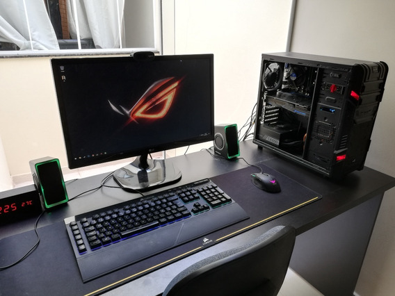Pc Gamer Completo + Monitor Gtx 1060 6gb / I5 3.6ghz