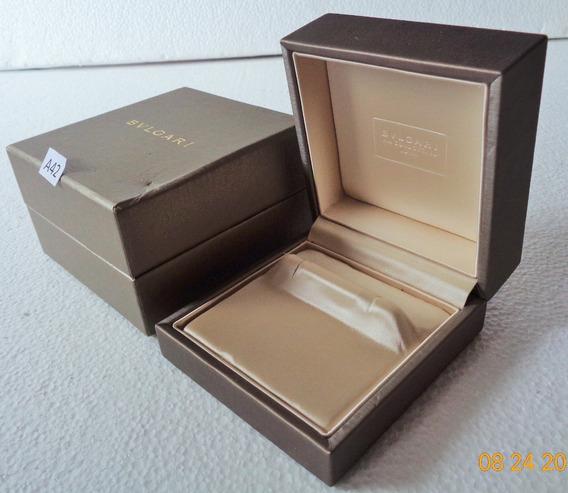 Bvlgari Estuche Original P/ Aretes C/caja Exterior # A42