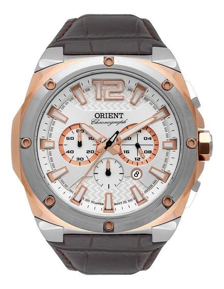 Relógio Orient Masculino Calendário Mtscc032 S2nx