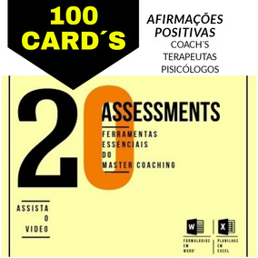 20 Planilhas Coaching Assessments + 100 Afirmações Positivas