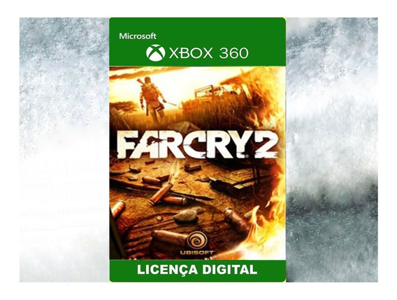 Farcry 2 Xbox 360 Midia Digital Licença Disponivel