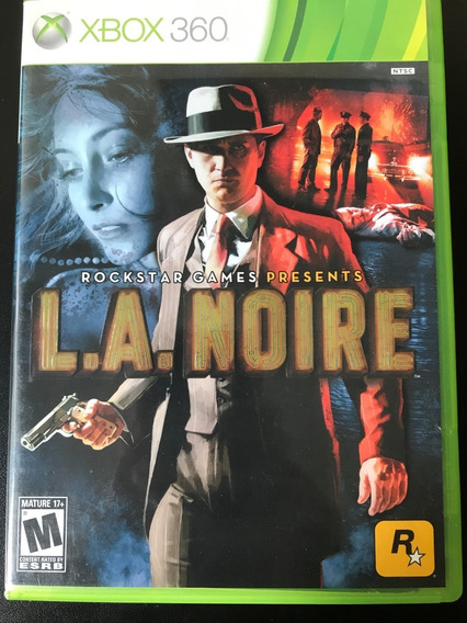 L A Noire Xbox 360 Original - Mídia Física