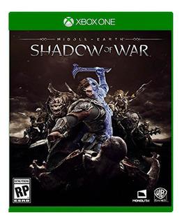 Sombras De Guerra Tierra Media Xbox One Online Y Offline
