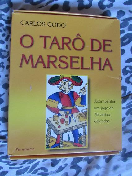 Tarô De Marselha - Carlos Godo - Com 78 Cartas Coloridas