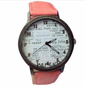 Relógio Feminino Barato Original Rosa Frete Gratís