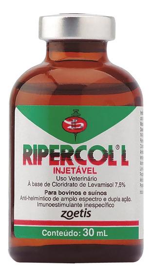 Vermifugo Ripercol L Injetável 7,5% - 30ml