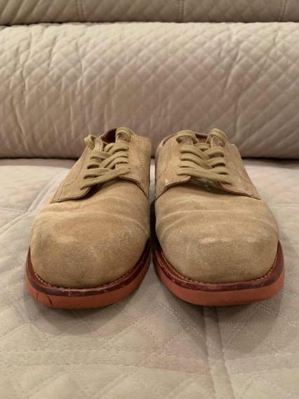 Sapato Masculino Camurça - Marca: Ralph Lauren - 9us