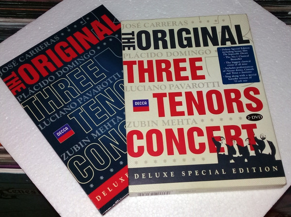 The Original Three Tenors Concert Dvd Doble Kktus